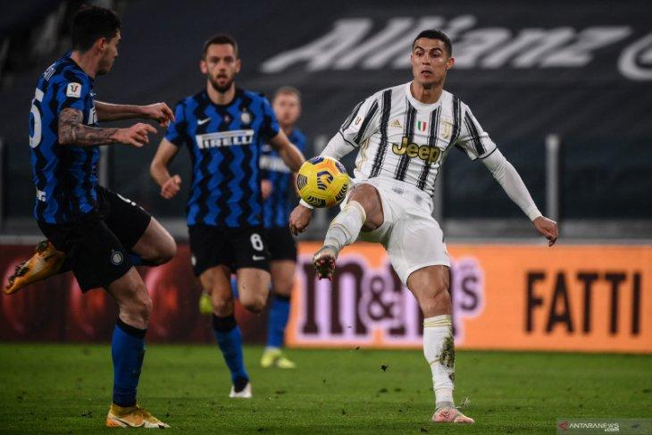 Juventus ke final Piala Italia walau cuma imbang lawan Inter