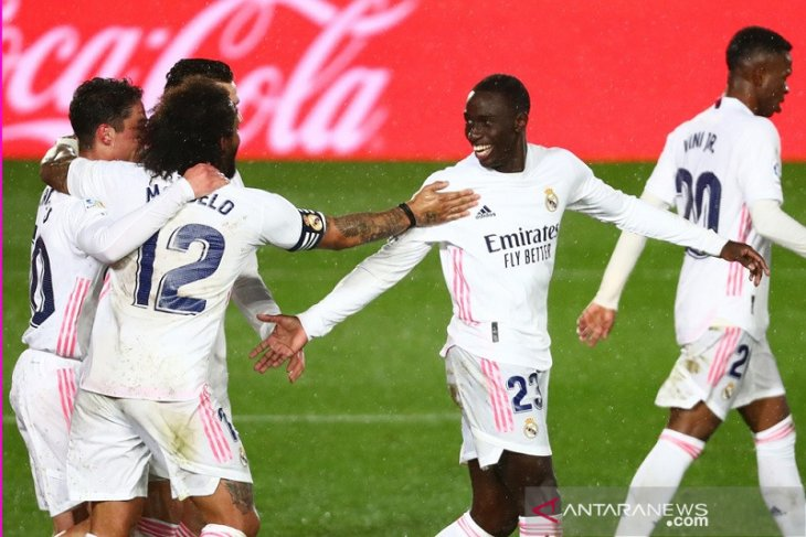 Real Madrid merebut posisi kedua seusai menangi laga tunda kontra Getafe