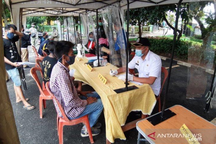 100 pelanggar prokes terjaring operasi yustisi di Bekasi Timur