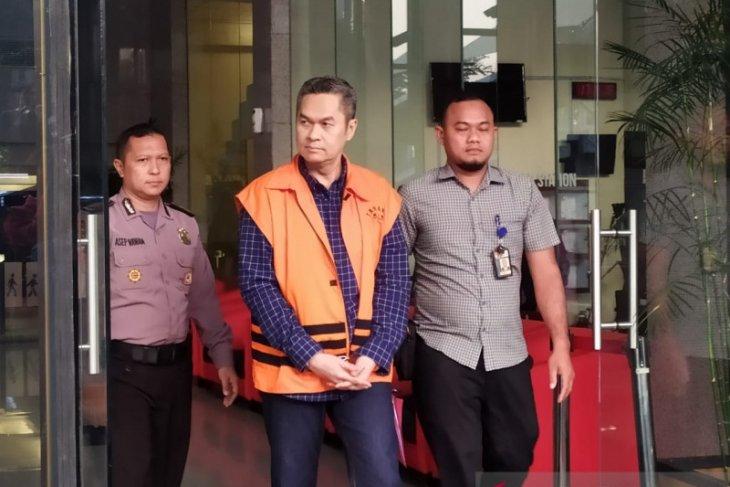 KPK eksekusi mantan Dirkeu AP II Andra Agussalam ke Lapas Cibinong Jabar