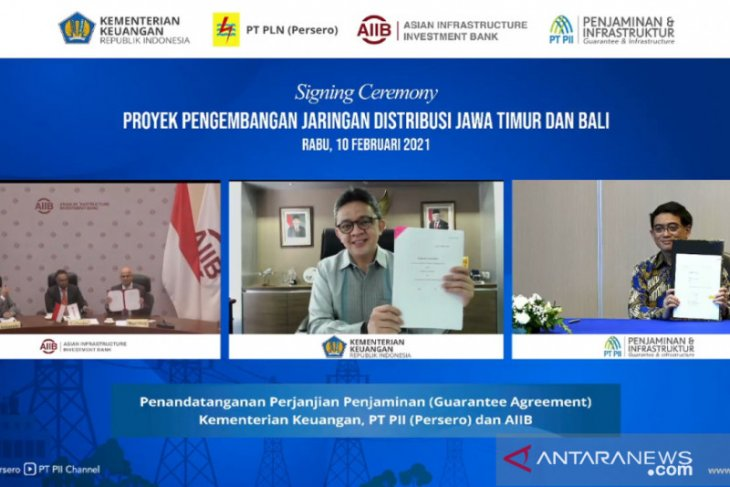 PII jamin proyek jaringan distribusi listrik Jatim-Bali