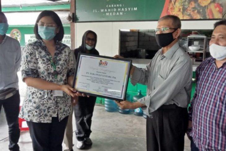 PT TPL dan jurnalis di Sumut rayakan HPN