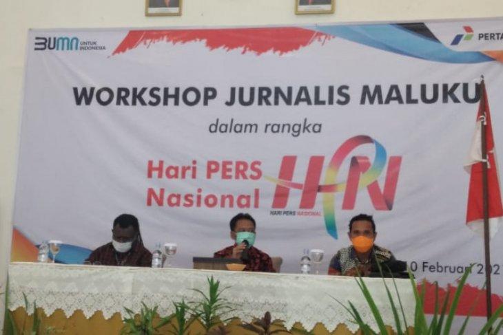 PT. Pertamina MOR VIII jalin sinergi dengan media di Maluku