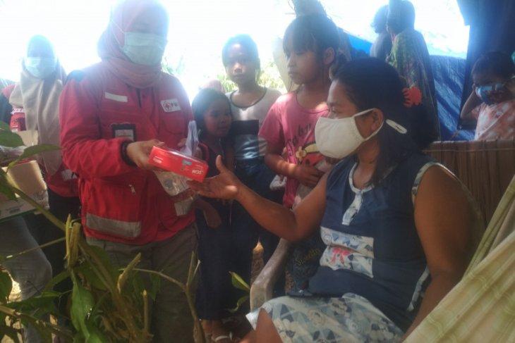 Pengungsi di Petekeang Sulbar mulai terserang flu dan diare