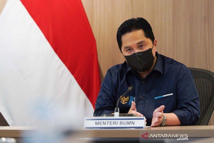 Erick Thohir akui saat pertama menjabat 53 pegawai BUMN jadi tersangka