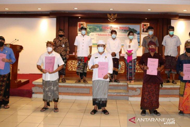 Enam pura di Kabupaten Tabanan ditetapkan jadi Cagar Budaya