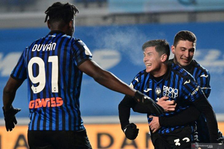 Atalanta ke final Piala Italia usai menang 3-1 atas Napoli
