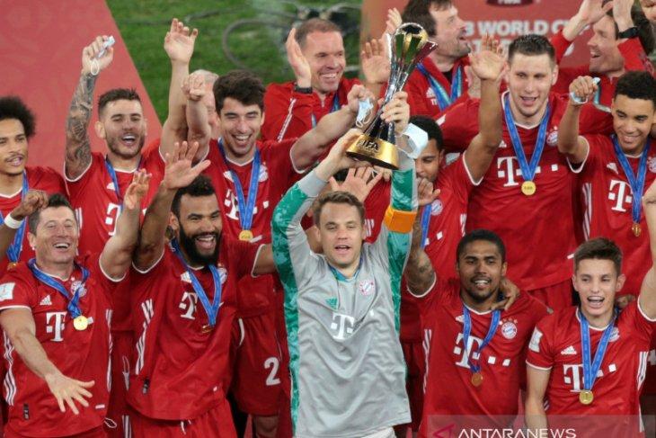 Bayern rebut gelar Piala Dunia Klub