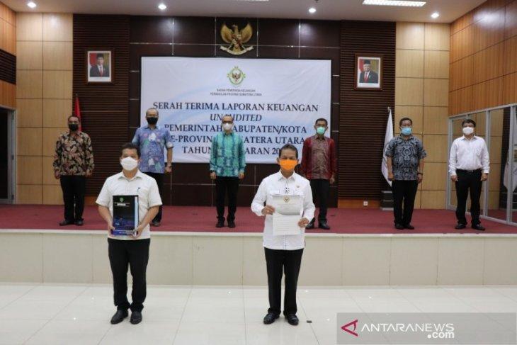 LKPD 2020 Pemkab Tapsel diserahkan ke BPK RI, pertama di Sumut