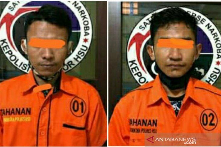 Polisi amankan dua remaja miliki sabu