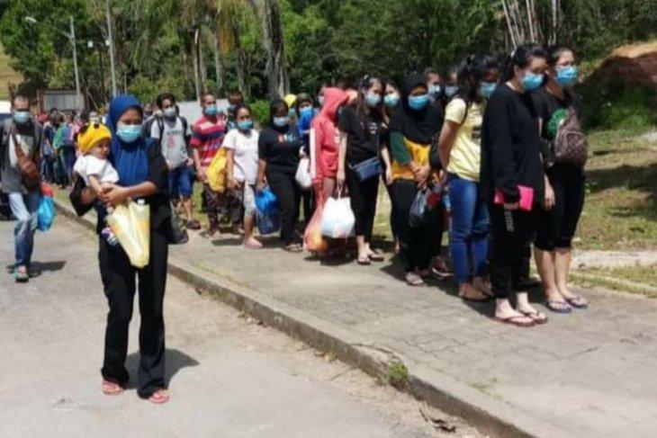 KJRI di Kuching bantu pulangkan PMI kondisi khusus melalui PLBN Entikong