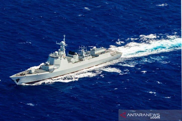 China kerahkan perusak radar di latihan bersama Rusia-AS