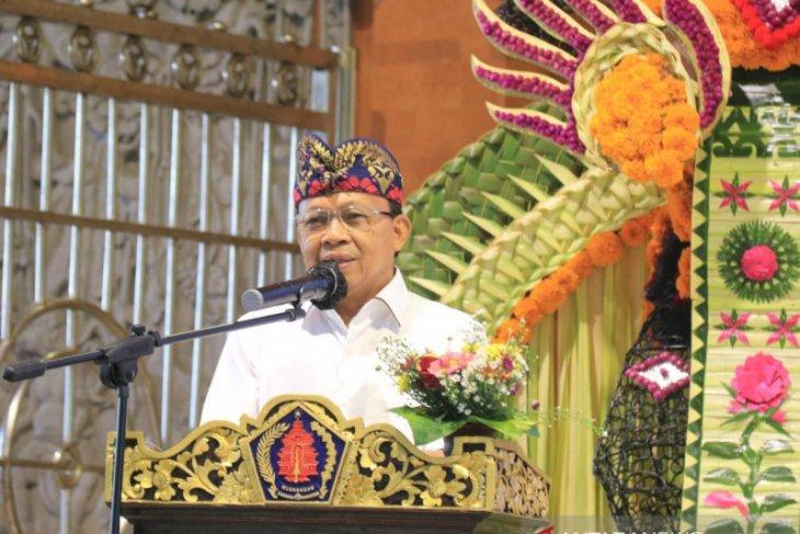 Gubernur Koster ajak masyarakat satukan kekuatan bangun Bali
