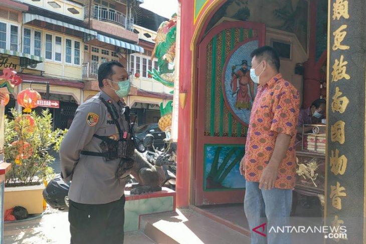 Polisi pantau pelaksanaan ibadah dan perayaan Imlek