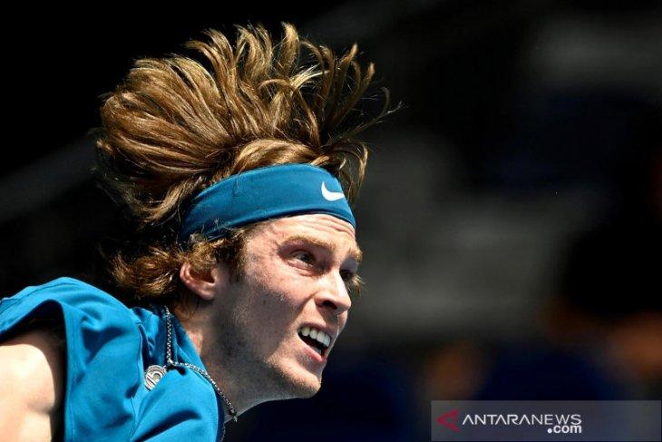 Andrey Rublev singkirkan Nadal di perempat final Monte Carlo Masters