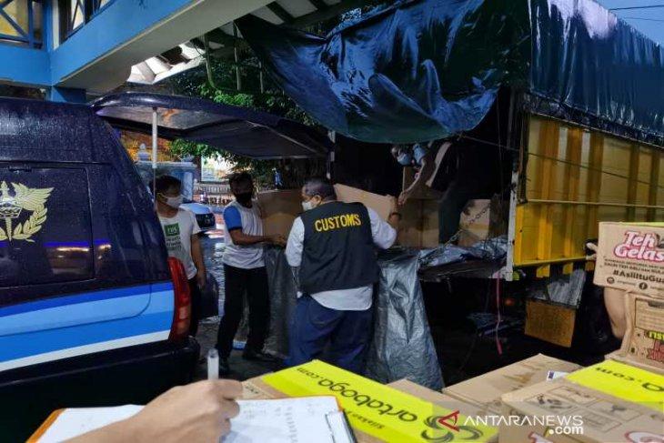 Bea Cukai Kota  Surakarta sita 2.160.000 batang rokok ilegal