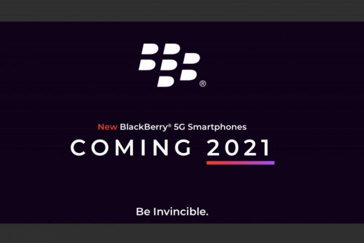 BlackBerry akan luncurkan ponsel  5G