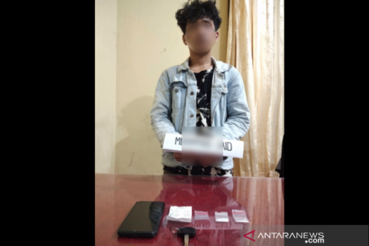 Anak narapidana edarkan sabu instruksi ibunya ditangkap polisi