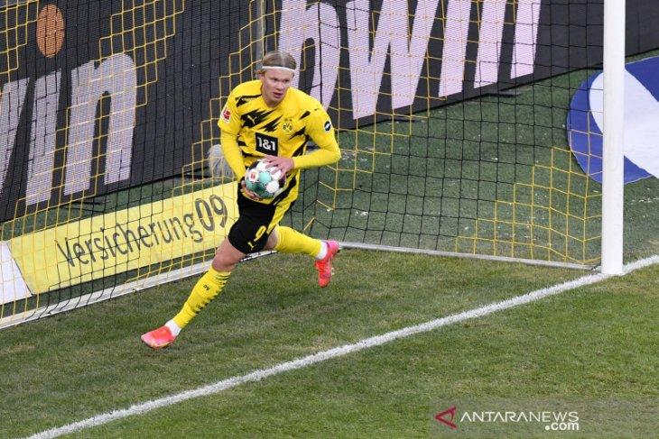 Liga Jerman: Gol Haaland hindarkan Dortmund saat menjamu Hoffenheim saat