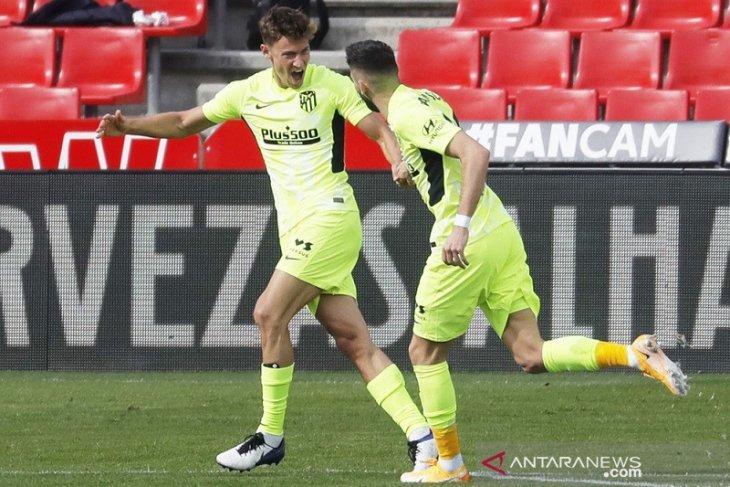 Atletico Madrid terus perlebar jarak di puncak klasemen Liga Spanyol