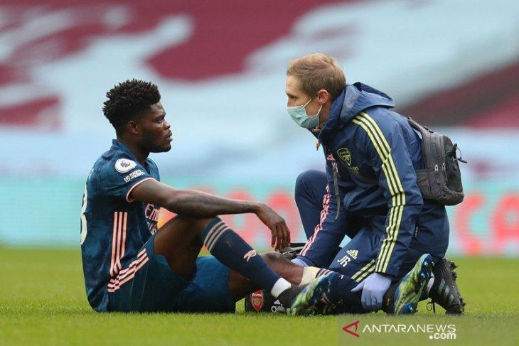 Liga Inggris: Arteta beberkan rasa frustasi Partey yang cedera lagi
