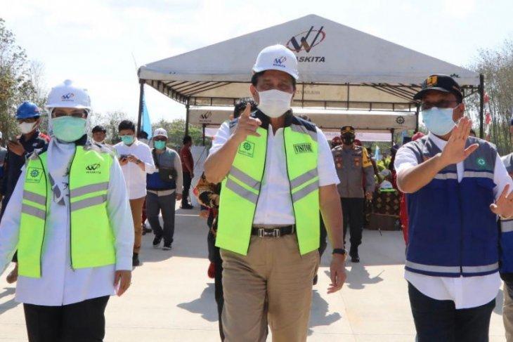 Luhut: Tol Kualanamu-Parapat tingkatkan ekonomi sekitar
