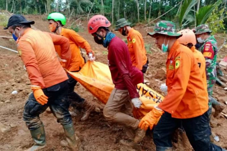 Korban ketiga longsor di Kebumen ditemukan