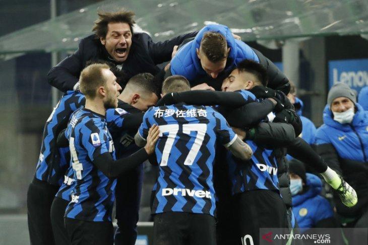 Liga Italia, Inter Milan rebut pucuk klasemen berkat kemenangan 3-1 atas Lazio