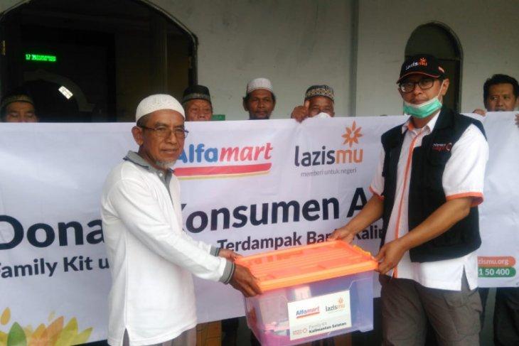 Donasi pelanggan Alfamart Rp3,21 miliar lebih dikelola Lazismu