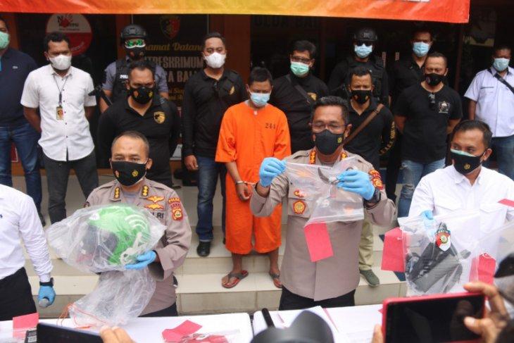 Polisi tangkap residivis yang bunuh seorang perempuan di Denpasar