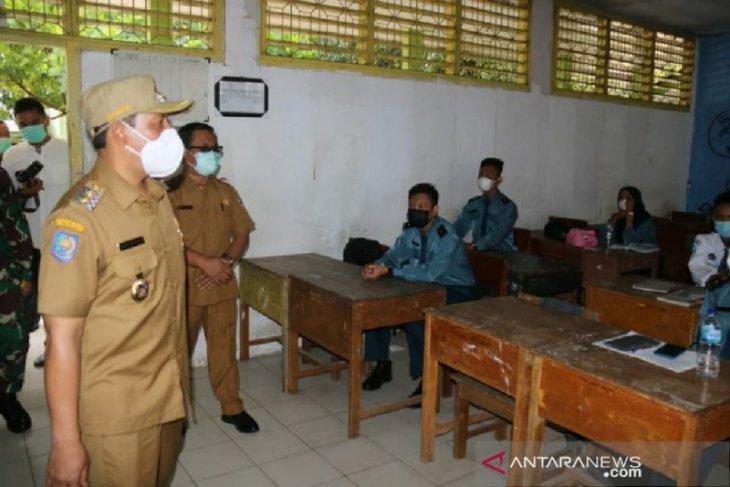 Wakil Wali Kota Bengkulu tinjau kesiapan belajar tatap muka di sekolah