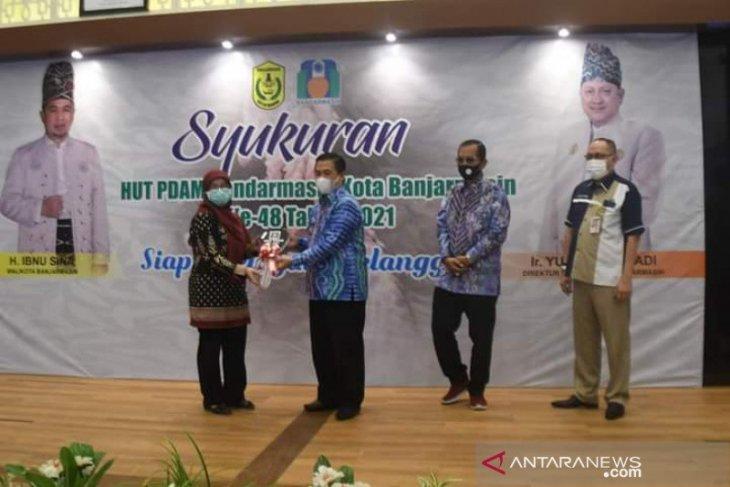 Wali Kota Banjarmasin beri dua tantangan bagi PDAM yang HUT ke-48