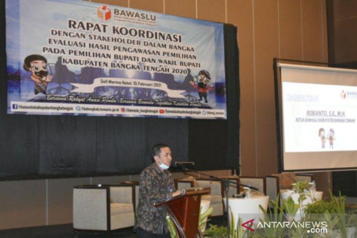 Bawaslu Bangka Tengah evaluasi terbuka hasil pengawasan Pilkada 2020