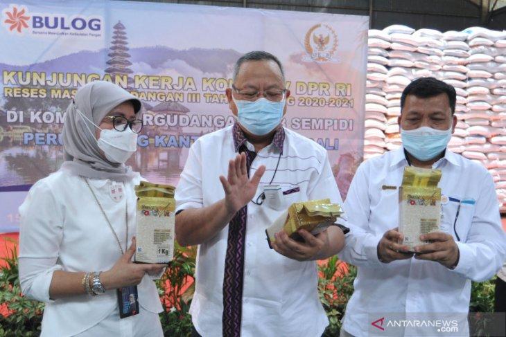 Komisi IV DPR tinjau ketersediaan pasokan beras Bulog di Bali