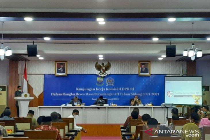 Komisi II DPR soroti kesiapan sertifikat elektronik di Jambi