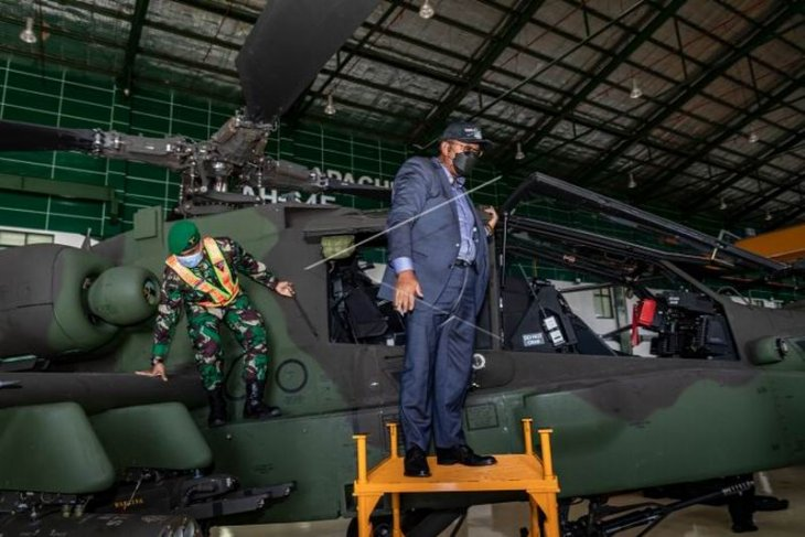 Kunjungan kerja DPR di di Skadron-11/Serbu Puspenerbad