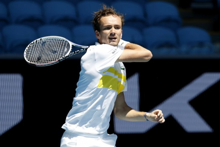 Australian Open: Medvedev melaju ke perempat final untuk pertama kalinya