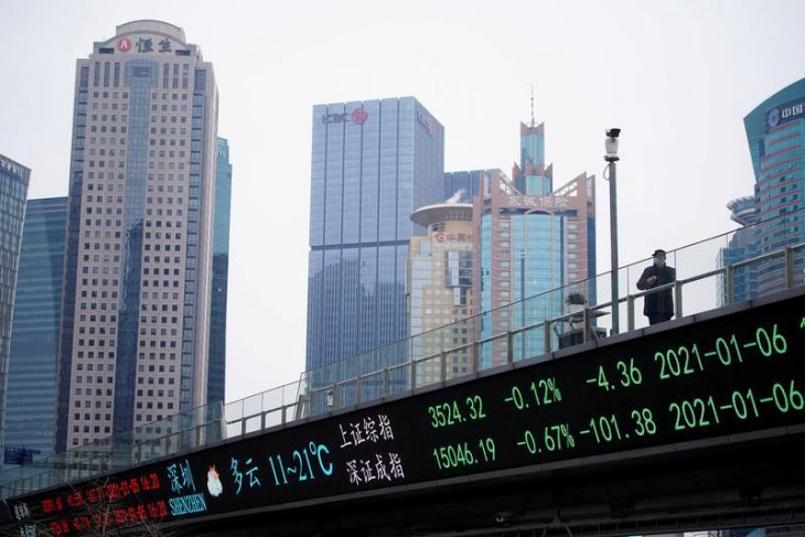 Saham Asia menyentuh level tertinggi sepanjang masa di awal perdagangan