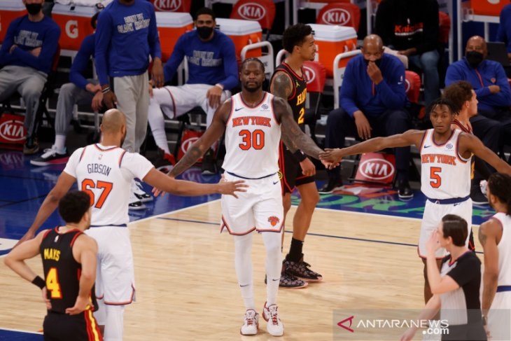 Julius Randle cetak 44 poin saat Knicks
