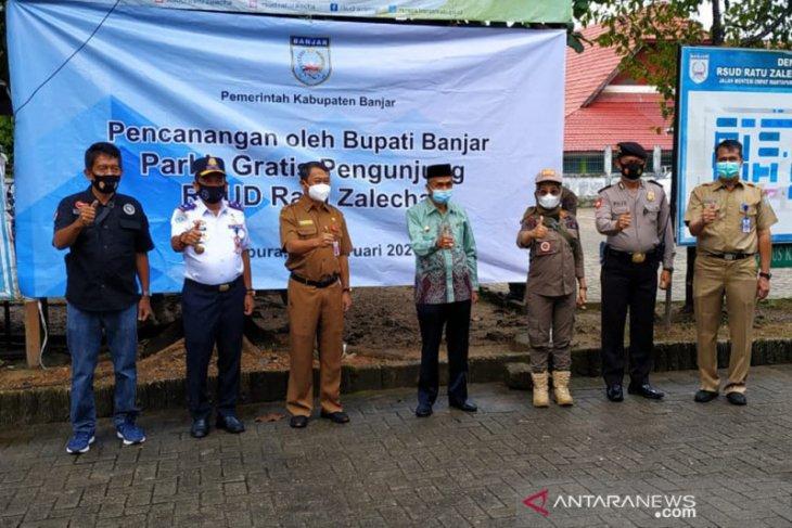 Bupati canangkan parkir gratis di Rumah Sakit Ratu Zalecha Martapura