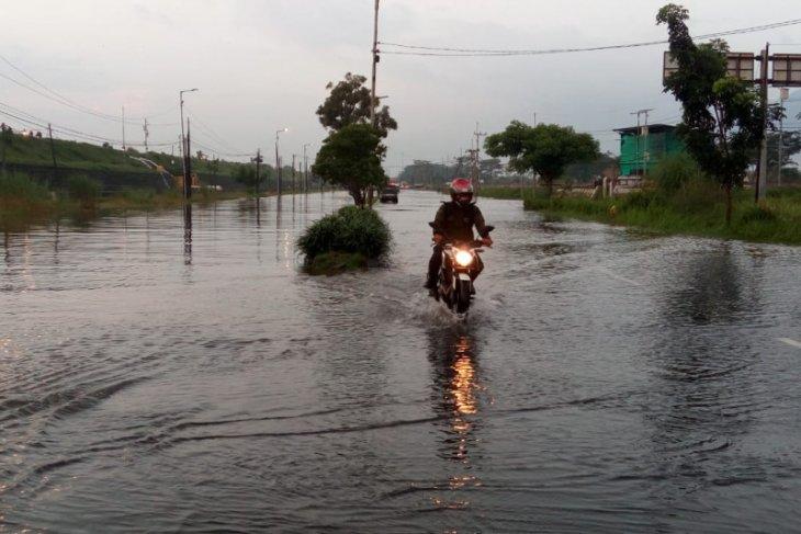 Sejumlah wilayah di Kabupaten  Sidoarjo terendam banjir