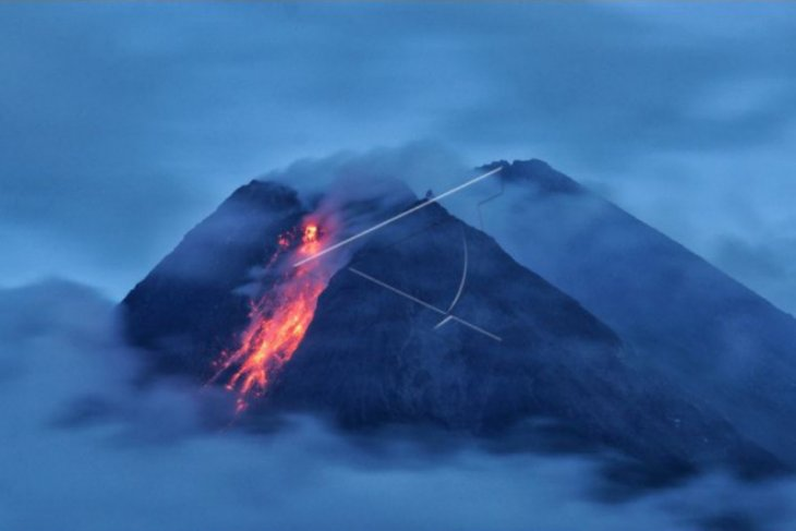 Mount Merapi belches lava up to 1.5 kilometers on Tuesday
