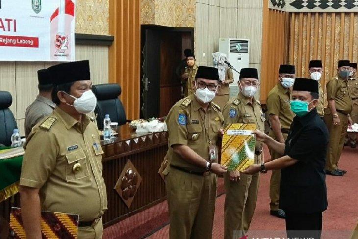 Tujuh Sekda kabupaten di Bengkulu terima penunjukkan Plh bupati