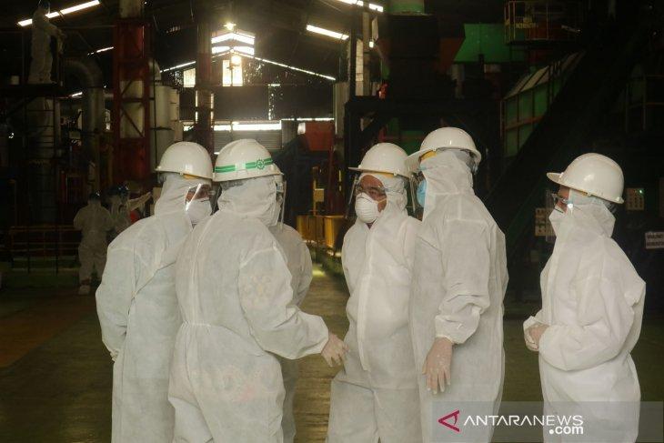Menko PMK Kunjungi Pabrik Pengolahan Limbah Medis