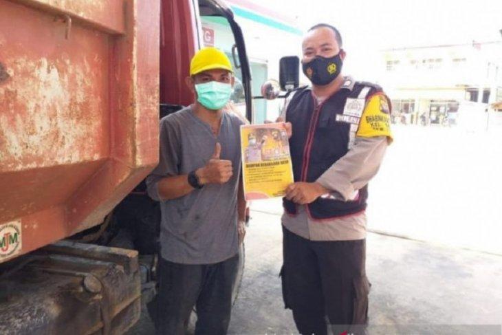 Polisi sosialisasikan pencegahan Kebakaran Hutan dan Lahan