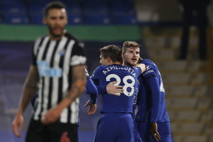 Chelsea ukir kemenangan keempat beruntun saat lucuti Newcastle 2-0
