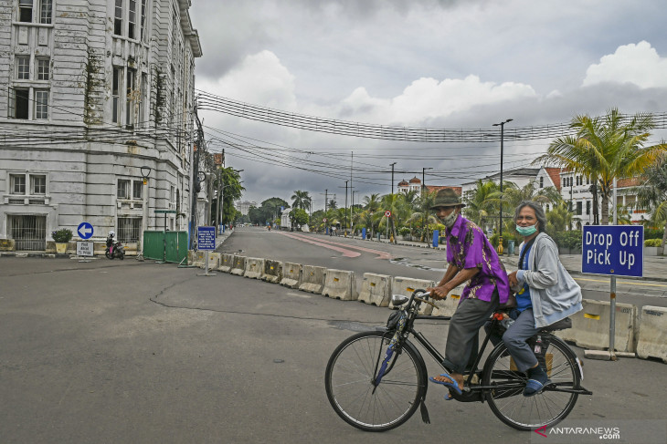 Kota Tua management allows residents to exercise on weekends