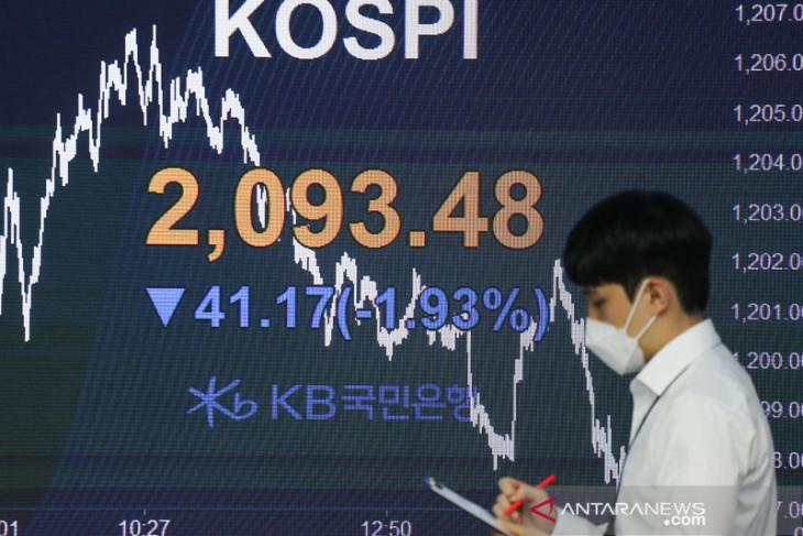 Saham Korea Selatan melemah, terseret penurunan saham teknologi