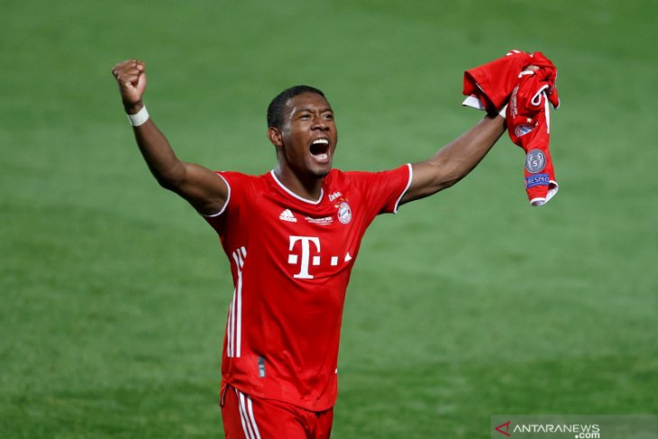 David Alaba tinggalkan Bayern Munchen akhir musim ini