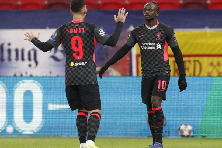 Liga Champions, Liverpool lumat Leipzig 2-0 berkat dua kesalahan bek